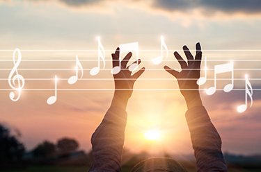 Music is an outpouring of the soul